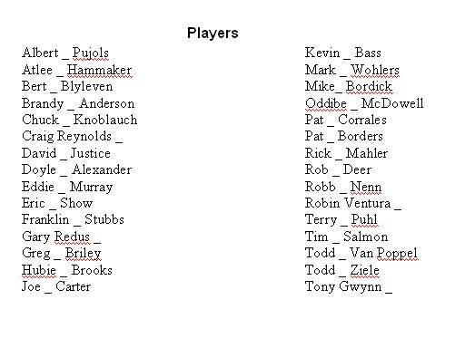 PlayersNicknames
