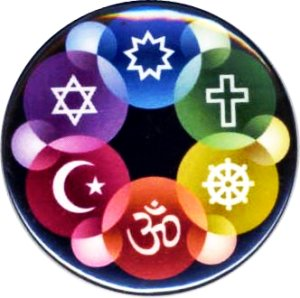 Interfaith graphic by Justice St. Rain (Bahá'í Community) of Interfaith Resources