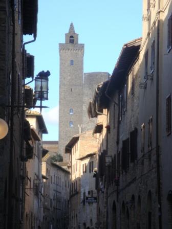 A Sunny Day in San Gimignano