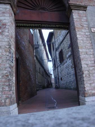 Enter San Gimignano