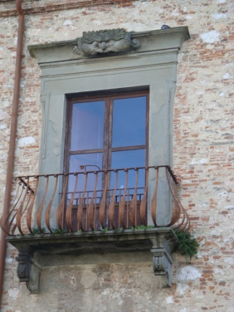 The iron balcony