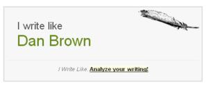 WriteLikeDanBrown