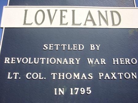 Loveland Sign