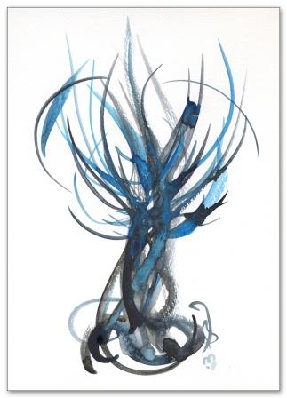 Cerulean Tree©marina-kanavaki 675