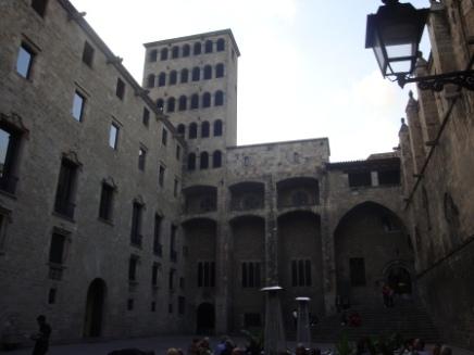 Barcelona Old City Royal Palace
