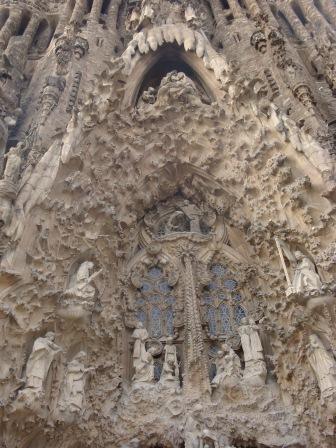 La Sagrada Outside Portion