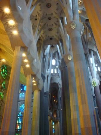 La Sagrada Inside