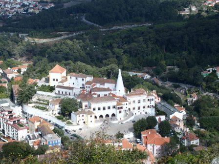 Moorish Castle Sintra Palace