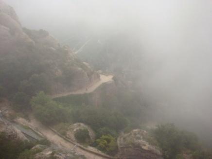 Montserrat Path Downward