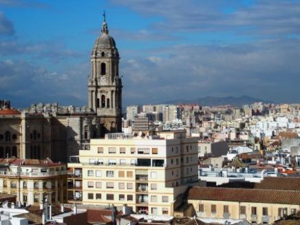 Malaga View Old City