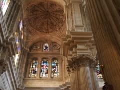 Malaga Cathedral Inside