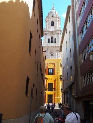 Malaga Old City Narrow